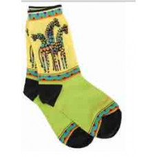 Носочки Laurel Burch, Giraffes -Yellow/Green (SOCKS-1049Y)