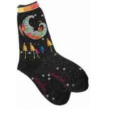 Носочки Laurel Burch, Mystic Moon -Black (SOCKS-1068B)