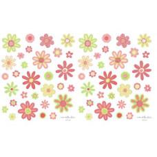 Наклейки из веллума, Цветы (357210)