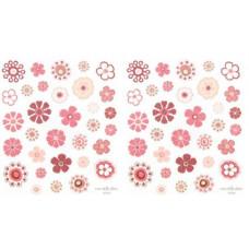 Наклейки из веллума, Цветы (357053)