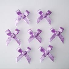 Бантики из ленты, фиолетовый (RB124)