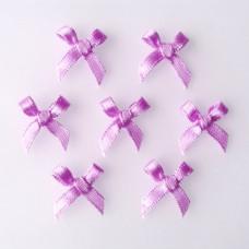 Бантики из ленты, фиолетовый (RB005)