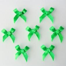 Бантики из ленты, ярко-зеленый (RB019)