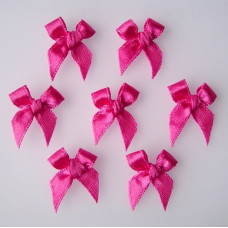 Бантики из ленты,  розовый (RB131)