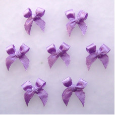 Бантики из ленты, фиолетовый (RB033)