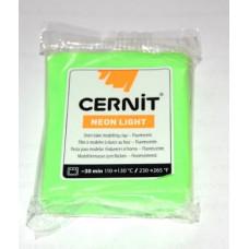 Моделин Cernit Неон, зеленый 215 (CR-CE0930056600)