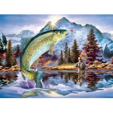 Паззл Утренняя рыбалка, 1000 эл. (59386)