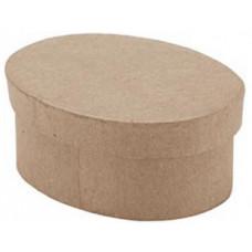 Коробка-мини из папье маше, Овал (28-0023 - 1021023)