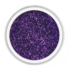 Глиттер в пластиковом контейнере, фиолетовый (2461-3)
