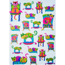 Калька Счастливые моменты - котята, 115 г. (UR-53814601R)