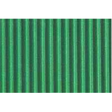 Гофрокартон мелкий зеленый, 220 г/.м.кв.