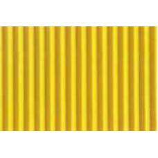 Гофрокартон мелкий желтый, 220 г/.м.кв.