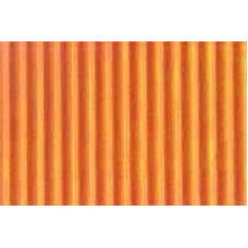Гофрокартон мелкий оранжевый, 220 г/.м.кв.