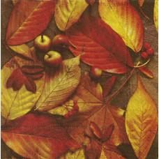"""Салфетка """"Осенние листья""""(019)"""