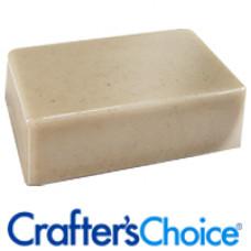 Основа для мыла овсяная, матовая - Oatmeal Soap Base (США), 460г