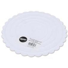 Поднос для разделения уровней тортов Scalloped Round, 40 cм (W30216)