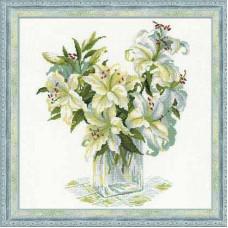 Белые лилии (1169)
