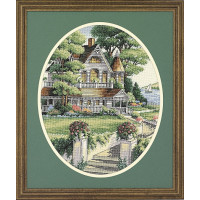Набор для вышивания крестом Dimensions Викторианский дом (3874)