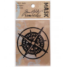 Трафарет для штампинга Mask Mini Compass, Tim Holtz (TIMTH.92803)