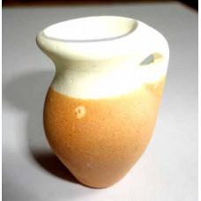Кувшинчик глиняный с ручкой