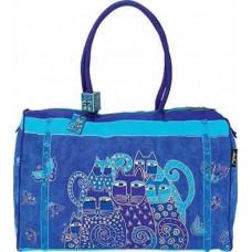 Сумка Laurel Burch Travel Bag, Indigo Cats (LB414)