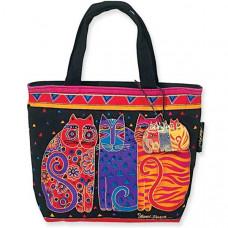 Сумка Laurel Burch Mini Tote, Feline Cats (LB774)