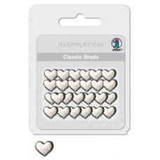 Брадсы Сердце 1 серебрянные (UR-7404 00 13)