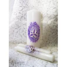 Контур для росписи свечей, фиолетовый (KR-49708)