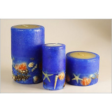 Контур для росписи свечей, королевский синий (KR-49717)