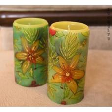 Контур для росписи свечей, зеленый металик (KR-49731)