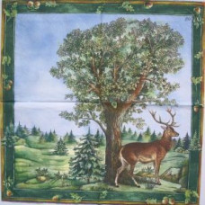 Салфетка В лесу (IHR-L 77220) (085)