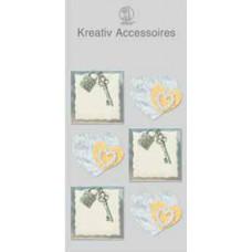 Аксессуары бумажные Ключик к сердцу (UR-564000110)