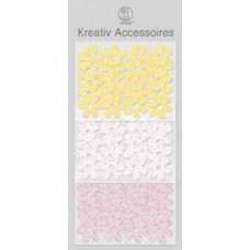 Аксессуары бумажные Цветочки, нежная гамма(UR-56400036)