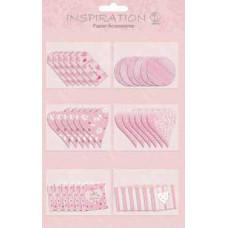 Аксессуары из бумаги Розовый ситчик (UR-56500001)