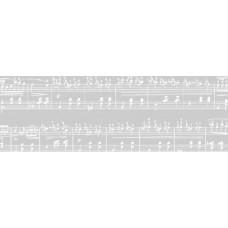 Калька Белая коллекция, Ноты (UR-50194621R)