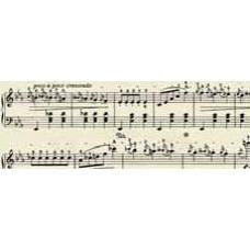 Калька Ноты, кремовый/черный, 115 г. (UR-50314603R)