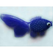 Виниловая рыбка, Синяя