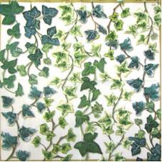 Салфетка Зеленые побеги плюща (IHR-L 33590) (088)