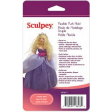 Форма для пластика Sculpey Flexible Push Mold Woman Doll (APM-71)