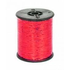 Металлизированная нить (красный)