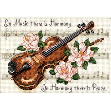 Набор для вышивания крестом Dimensions Музыкальная гармония (16656)