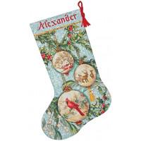 Набор для вышивания крестиком Dimensions Рождественский сапожок Чарующий орнамент (70-08854 )