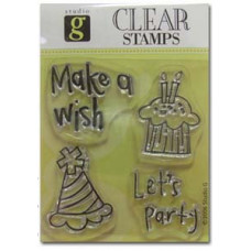 Штамп Birthday Party/Wish (4911)