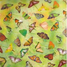 Калька Бабочки, желтый (UR-50514601R)