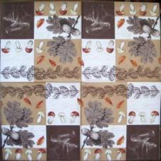 Салфетка Дубочки и грибочки (187)