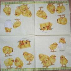 Салфетка Цыплята (203)