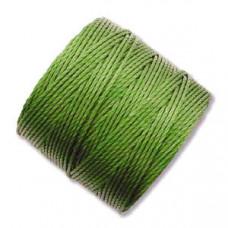 Капроновая нить, ярко-зеленая, 0,7мм