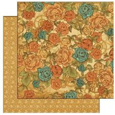 Лист бумаги Steampunk Fantasy Floral (4500263) (162)