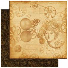 Лист бумаги Steampunk Mechanical Mind (4500268) (106)