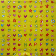 Салфетка Будь счастлив! (233)